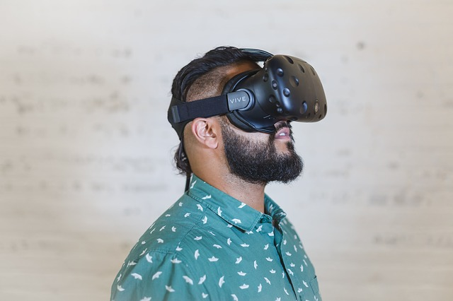 spokojený ve VR