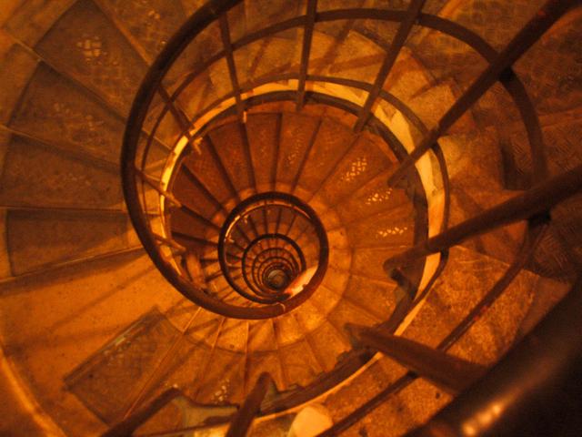 Zatočené schodisko